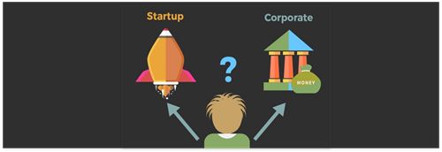Why work for a startup